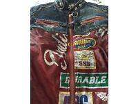 Ladies Miss Sixty Demin/leather jacket