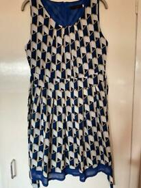 Tenki dress size 12 - as new. Worn a couple of times, length too short for me