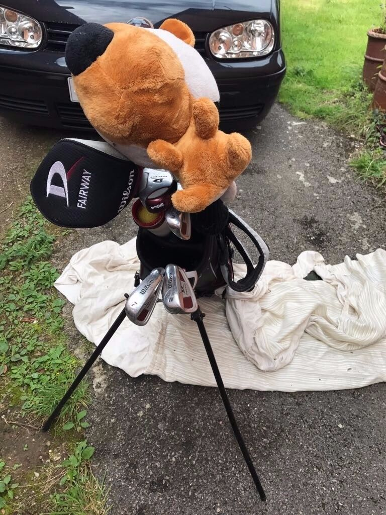 9-14 year olds set of golf clubs