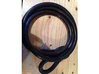 Motor bike bicycle security cable