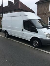 FORD TRANSIT 2.4 TDCI 2008 - 6 SPEED - LWB / HIGH ROOF - DRIVES WELL NO VAT - READY FOR WORK