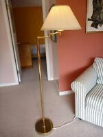 lamp-x2 standing floor-lamps-swing arm