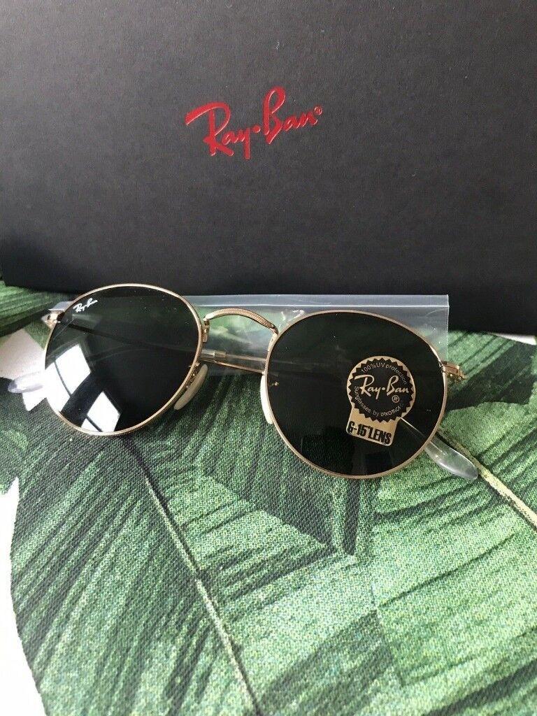 2c6d66b5cb4c Brand New Ray Ban Round Remix Sunglasses.