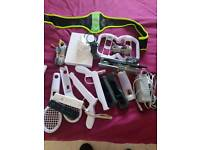 Wii console,games and lots of accessories
