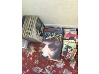 Selection of record vinyls (LPs)