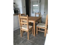 Small kitchen table and chairs