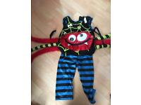 3-4 year olds spider Halloween costume