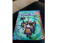 Suicide Squad Blu Ray 3D