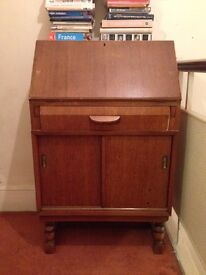 Vintage writing desk from Styles & Mealing, High Wycombe