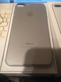 Apple iPhone 7 plus 32gb White / Silver EE Network