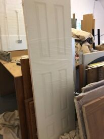 White panel door - wrapped - Brand new - 626mm x 2040mm