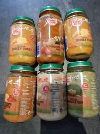 Cow & Gate Baby Food Jars x 6