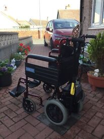 Power assisted wheelchair
