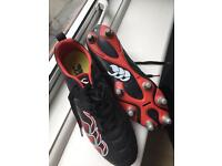 Rugby Boots, Canterbury size UK 8.5
