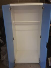 Blue kids wardrobe fab condition