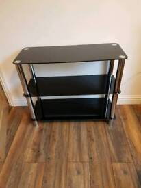 Glass display or HiFi stand