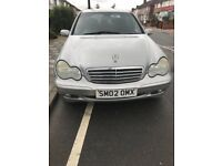 Silver Mercedes Benz C220 For Sale