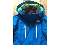The North Face Hyvent Blue Ski Jacket, Men's Size Medium