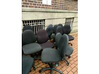 Office chairs looking for reasonable offers