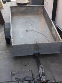 Trailer 5x3 with lights 2 very good tyres