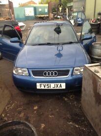 Breaking Audi A3