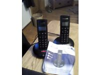 BT graphite cordless phones