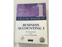 Business accounting 1, Frank Wood and Alan Sangster