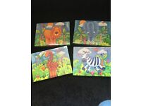 Baby canvases