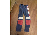 Ladies leather trousers size S