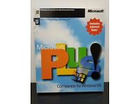 Microsoft Plus! Companion for Windows 95 New Sealed