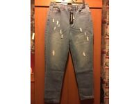 BNWT Boohoo Sophie High Rise Mom Jeans size 14