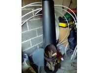Patio heater / wood burner