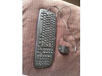 Logic cordless keyboard