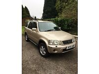 1999 honda crv ES, new mot, 1 owner