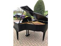 Black baby grand piano | Kemble satin black case | Belfast pianos |free delivery |SOLD |SOLD|