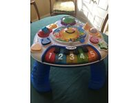 Electronic Discovering Music and Activity table by Baby Einstin in great condition