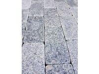 Beautiful Silver-Grey Granite Sett Stones