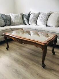 French Bergere Coffee Table