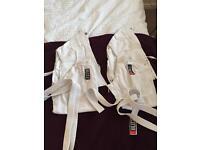 Children's karate suits x2