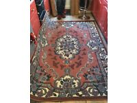 """Late aunties carpets wool 63""""x88 huge nice condition"""