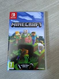 Minecraft Nintendo Switch *Postage available*