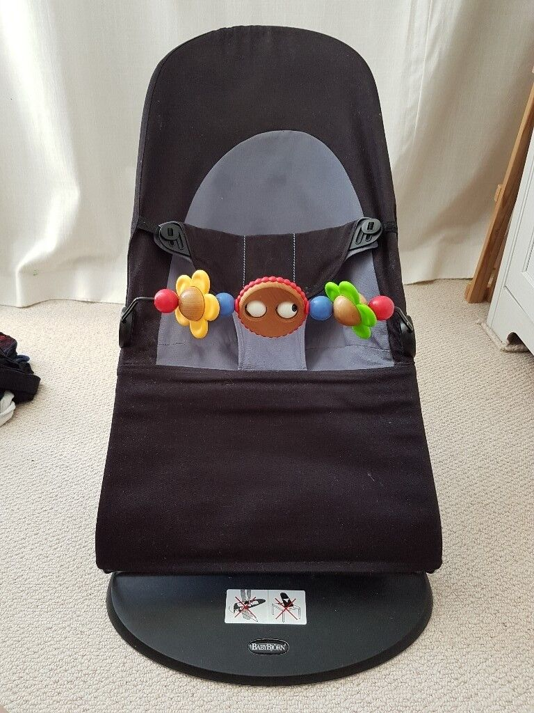 bb44488ad89 Babybjorn balance bouncer + wooden toy