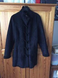Black Per Una coat