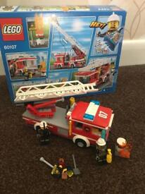 Lego fire engines