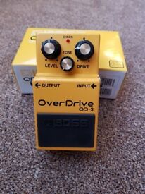 Boss OD3 Overdrive Pedal in excellent condition