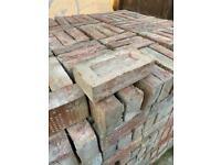 Stock Bricks (reclaimed) - 1340No. - Colour Varies - Metric (102.5 x 65 x 215)