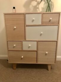 Modern Scandi style chest of drawers- NEW