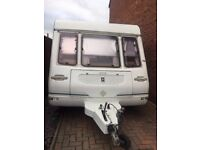 1998 5 BERTH CARAVAN WITH AWNING AND OPTIONAL FIXED BED!!