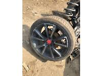 VAUXHALL CORSA D ALLOY WHEEL SET