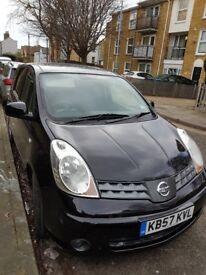Nissan Note. Ramsgate area. Msg for more details. Clean car. Full MOT. Black. Diesel.